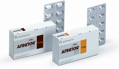 Afinitor, Everolimus, Evert