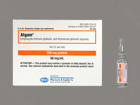 Atgam, Equine, Anti Thymocyte Globuline
