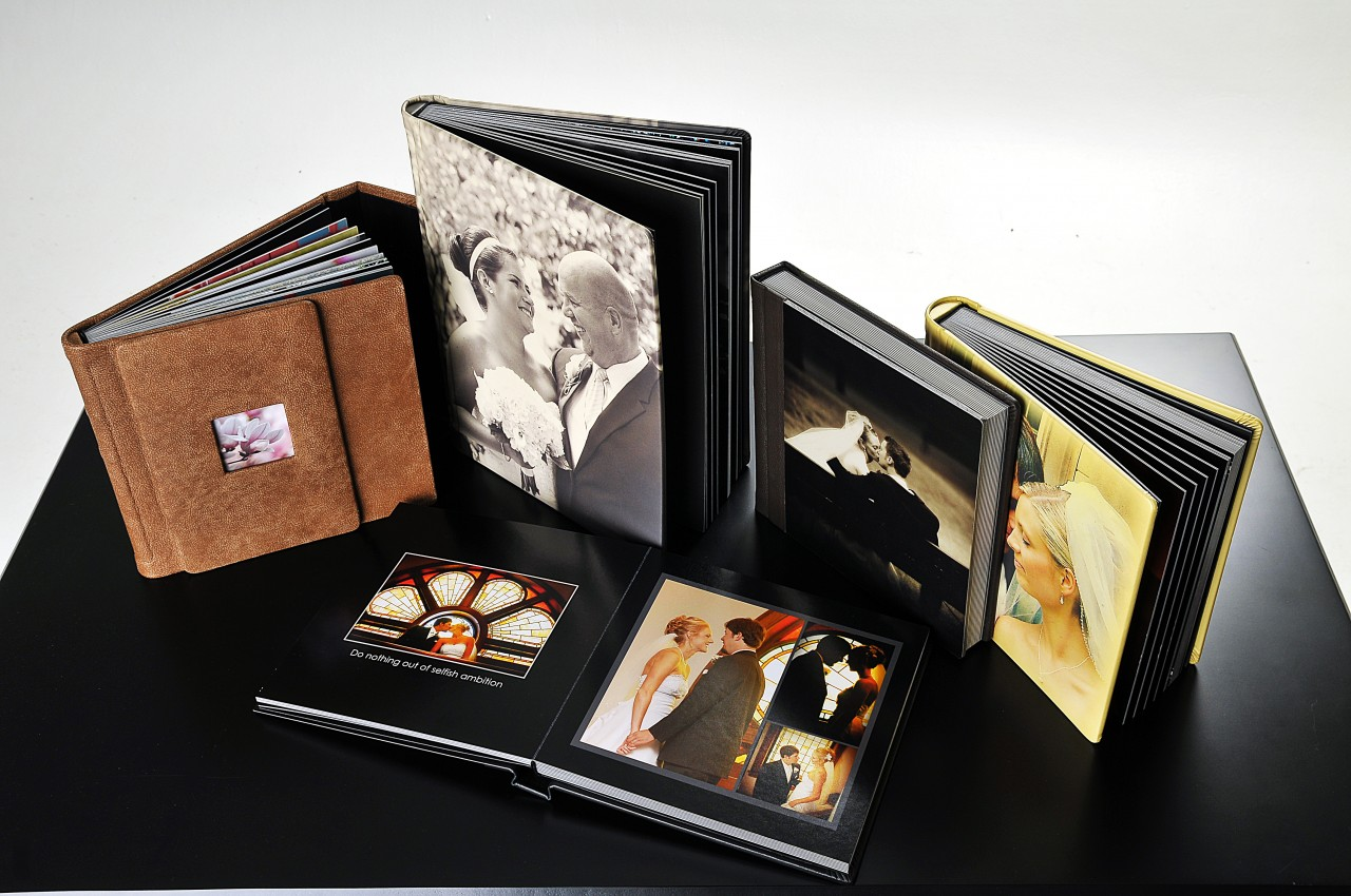 Wedding Albums - From the Photographer to the Album