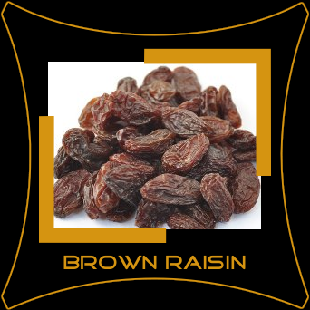 Black Brown Raisin
