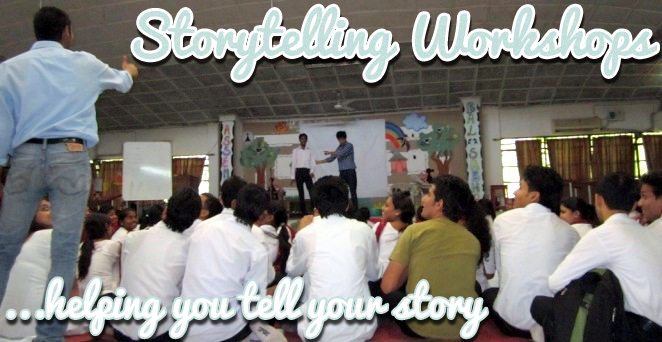 Storytelling Workshops by Heptullha