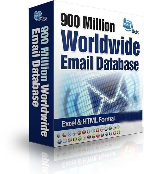 Worldwide Email Database