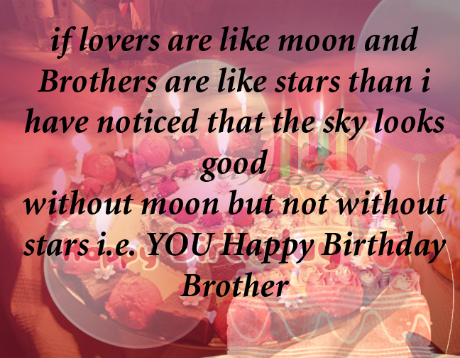 Birthday Cake For Brother With Quotes Image Inspiration of Cake