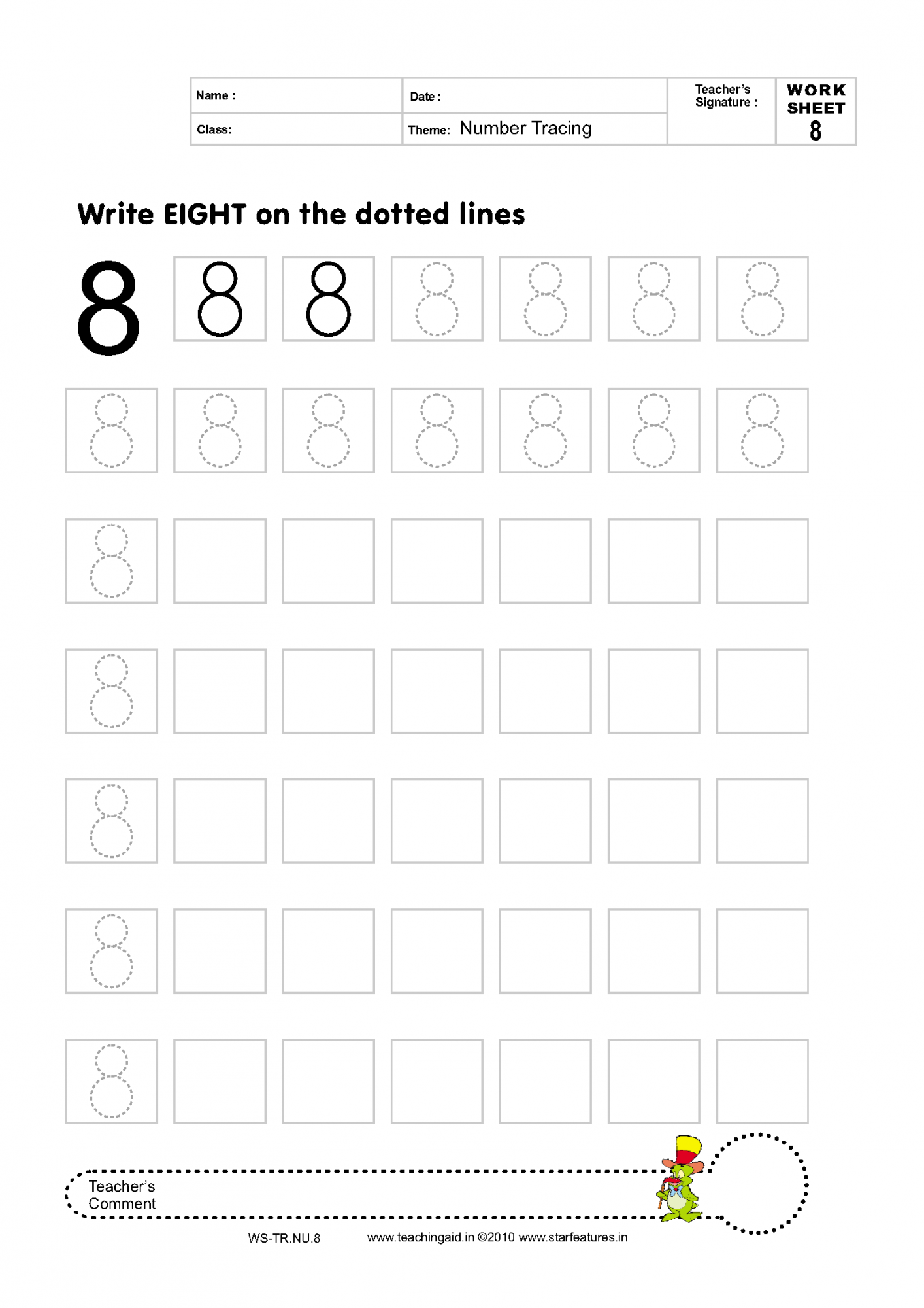 Color By Number Preschool Worksheets  Mamas Learning Corner